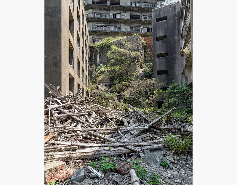 Hashima Island Photographs by Andrew Meredith Photography - Passages and Walkways Photograph 24
