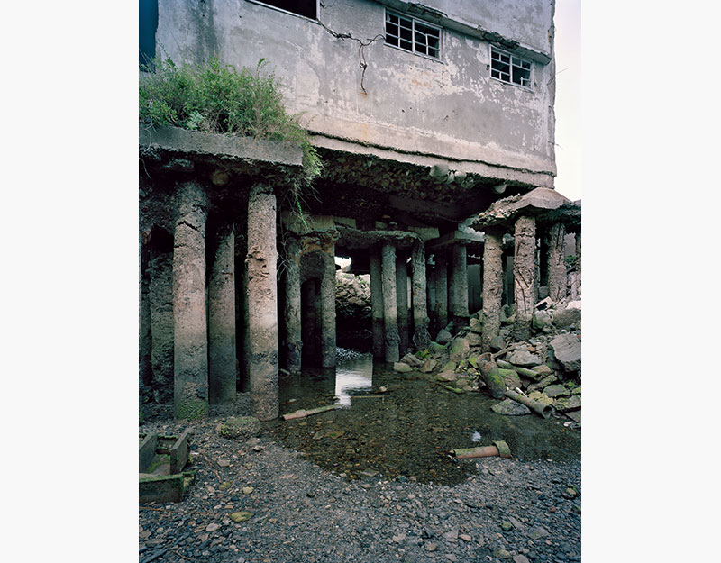 Hashima Island Photographs by Andrew Meredith Photography - Passages and Walkways Photograph 26