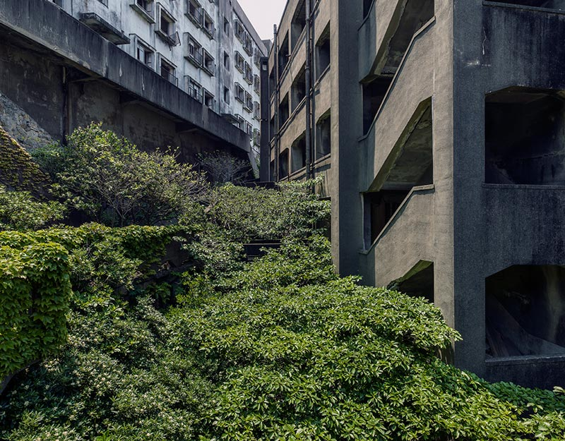 Hashima Island Photographs by Andrew Meredith Photography - Passages and Walkways Photograph 27