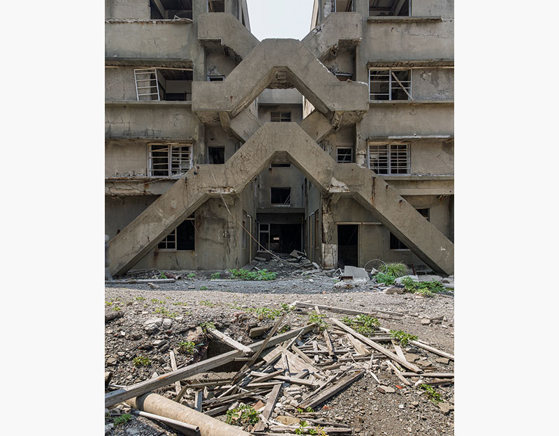 Hashima Island Photographs by Andrew Meredith Photography - Passages and Walkways Photograph 28
