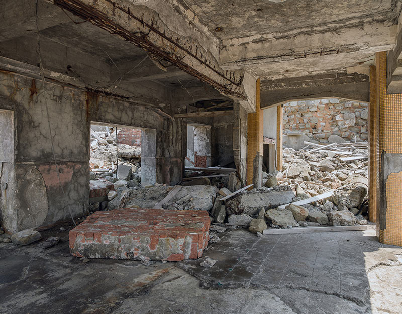 Hashima Island Play Area Photographs Andrew Meredith Photography