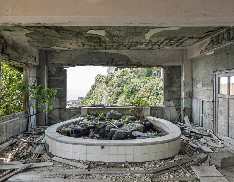 Hashima Island Photographs by Andrew Meredith Photography - School Photograph 9
