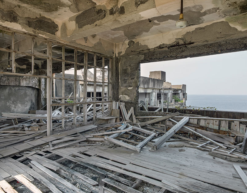 Hashima Island Photographs by Andrew Meredith Photography - School Photograph 12